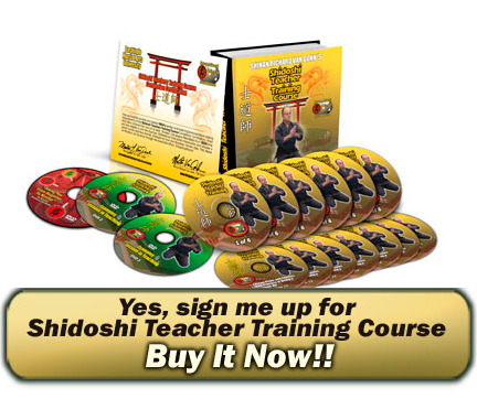 Yes sign me up for Shidoshi Teacher Course
